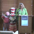 Tammi Schneider reads from The Cat in the Hat