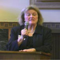 Judy Harvey Sahak introduces 2007 faculty speakers