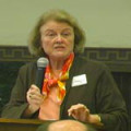 Judy Harvey Sahak introduces 2008 faculty speakers