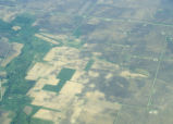 Aerial view of Illinois drainages