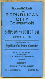 Delegates to the Republican city convention