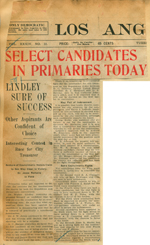 Select candidates in primaries today