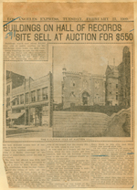 Buildings on Hall of Records site sell at auction for $550