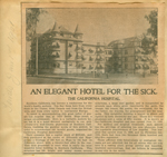 An elegant hotel for the sick