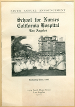 School for Nurses California Hospital