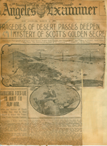 Tragedies of desert passes deepen mystery of Scott's golden secret