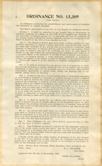Ordinance No. 13,309