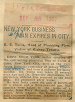 New York business man expires in city
