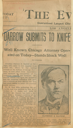 Darrow submits to knife