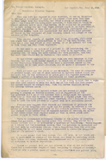 Letter from Philip Kitchen to Walter Lindley