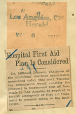 Hospital first aid plan is considered