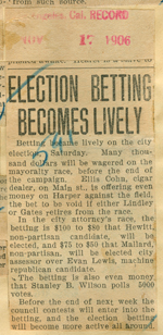 Election betting becomes lively