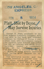 Platt, shot by Devoe, may survive injuries