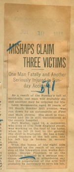 Mishaps claim three victims