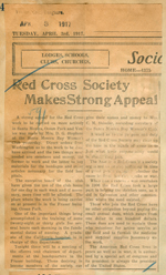 Red Cross Society makes strong appeal