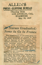Twenty nurses graduated, some to go to France