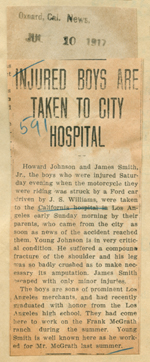 Injured boys are taken to city hospital