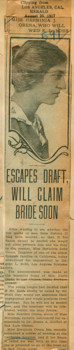 Escapes draft, will claim bride soon