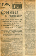 Machine men run city convention
