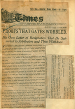 Proofs that Gates wobbled