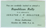 Republican rally ticket