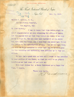 Letter from H. P. Goodman to Walter Lindley