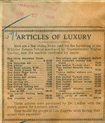 Articles of luxury