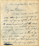 Letter from J. B. Ruchell to Walter Lindley