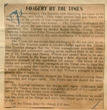 Forgery by the Times