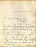 Letter from Carlos L. Stuart to Walter Lindley
