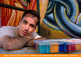 Portrait of artist Paul Botello