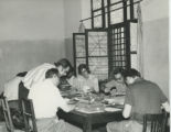 Work session in the library of the Coptic Museum