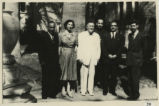 Abd el-Bakir Yussef, Abbé Drioton, Father Basilios, Pahor Labib, and the Doresses