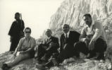 James Robinson, Pahor Labib, Victor Girgas at Jabal al-Ṭārif