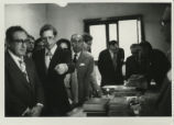 Henry Kissinger with James Robinson at the Coptic Museum