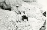 James Robinson and Hānī al-Zaynī at Jabal al-Ṭārif