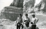 Emmel, Robinson, and Hedrick at Jabal al-Ṭārif