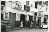 Abrām Bibāwī and group in front of Pharmacie el-Salam