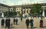 Postcard, University buildings in Berlin