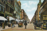 Postcard, Friedrichstrasse, at the corner of Leipziger Strasse
