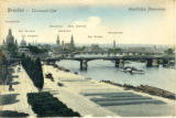 Postcard, Western Panorama of Dresden
