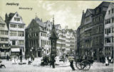 Postcard, Messberg, Hamburg