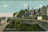 Postcard, Ramparts, Québec City