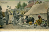 Postcard, Native basket makers and venders