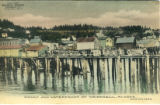 Wharf and Waterfront at Wrangell, Alaska