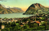Postcard, Lugano, Switzerland