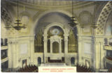 Postcard, Interior, Christian Science Church