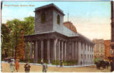 Postcard, King's Chapel, Boston, Mass.