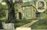 "Postcard, Home of Louisa Alcott and Her ""Little Women"""