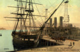 "Postcard, ""The Constitution"" ""Old Ironsides"""